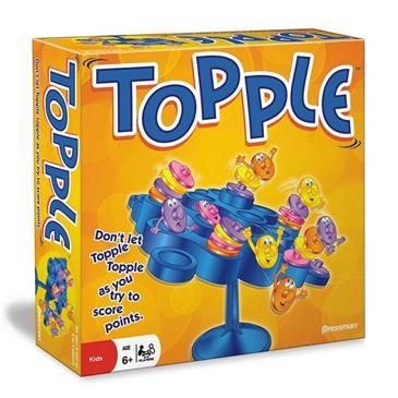 Topple Game Board Box