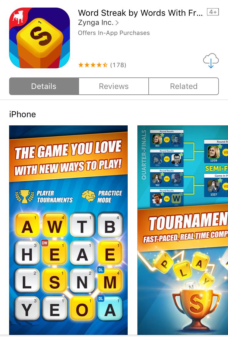 Top Ten Game Apps