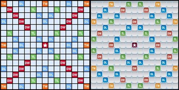 Scrabble Vs Words With Friends Compare The Differences