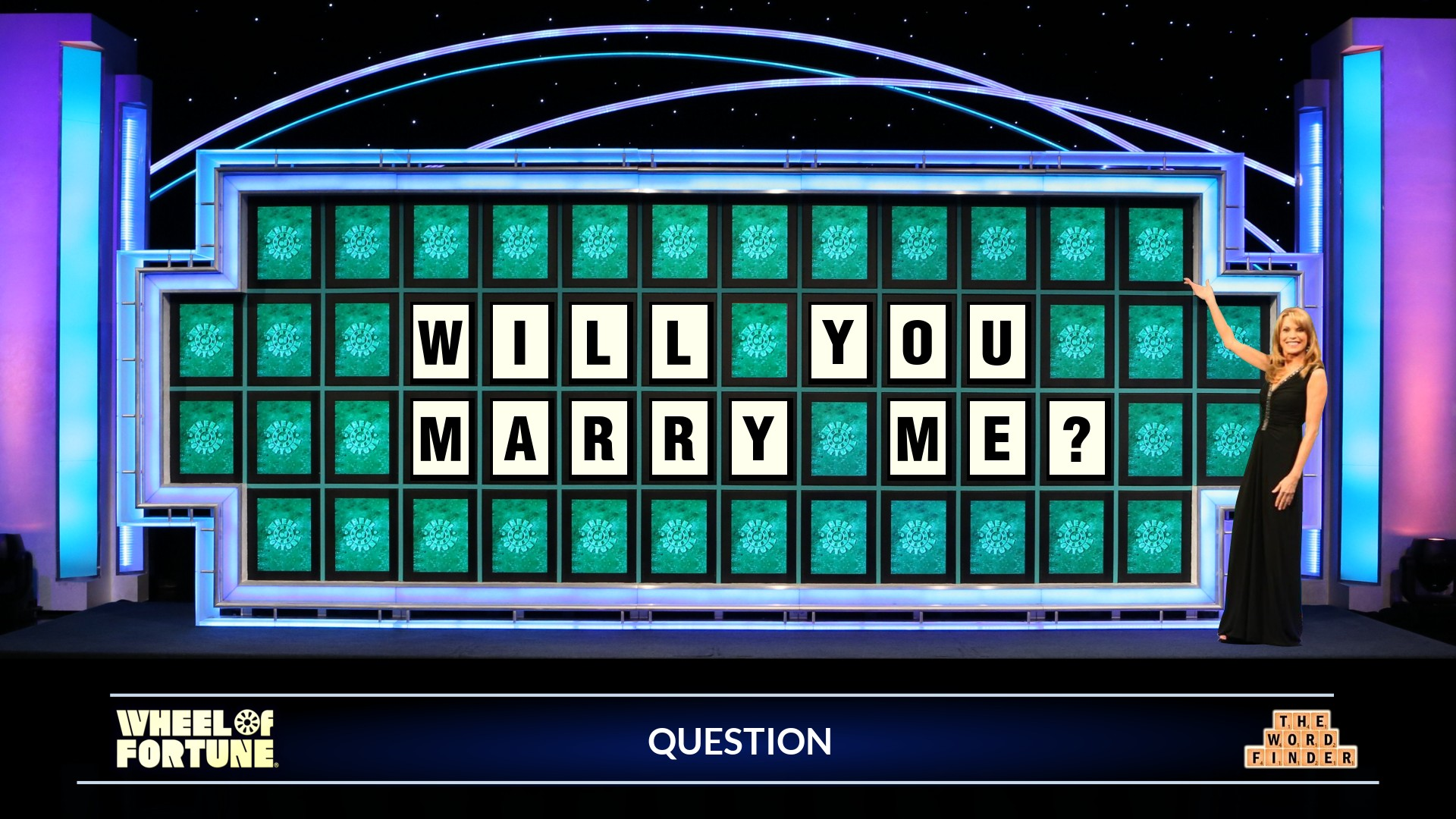 Same Letter Wheel Of Fortune.Create Your Own Wof Puzzle The Word Finder